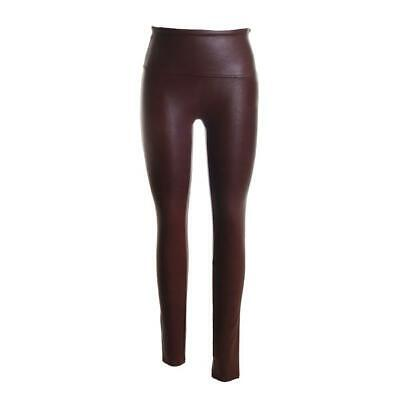 Hotel Particulier Lamb Leather Leggings Pants in Mocha 40 4 $695