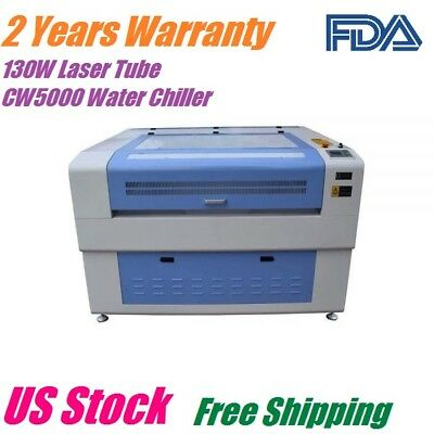 130w Co2 Laser Engraving Cutting Machine 1300 X 900mm Dsp Electric Lifting Table