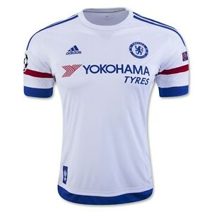 Chelsea Soccer Jersey, season 2016, white color