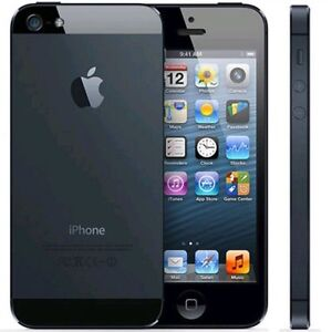 iPhone 5 black 64 gb with rogers