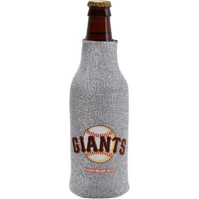 Giants Zipper Bottle Suit - San Francisco Giants Kolder Bottle Glitter Zipper Suit Kaddy Cooler Insulator