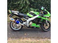 Kawasaki ninja zx6r. 2000 with 35k miles. Long mot. Hpi clear PX welcome