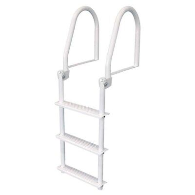 JIF Flip Up 3 Step Dock Ladder