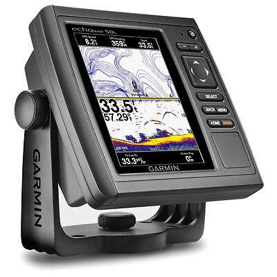 GARMIN echoMAP 50s GPS US Maps Chartplotter Sonar 010-01136-01 No Xducer