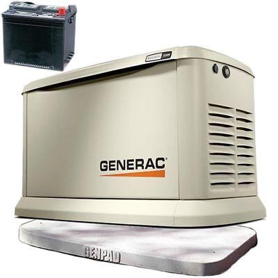 Generac Guardiantrade 22kw Aluminum Home Standby Generator 3 Genpadtrad...