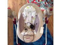 Babymov swinging baby chair