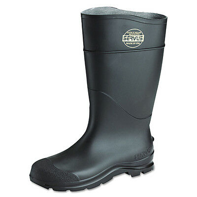 Servus By Honeywell 18821 Black PVC Steel Toe Boots Size 3-15 *Free US Shipping* Business & Industrial