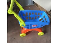 Chad valley shopping trolley