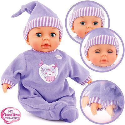 Bayer Design My Little Piccolina Puppe 28 cm (Lila)