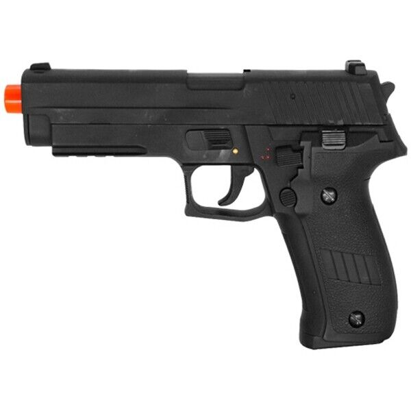 SWISS ARMS LICENSED P226 FULL AUTO ELECTRIC AIRSOFT PISTOL HAND GUN w/ BBs BB