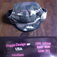 Camo hat size medium for small breed dog