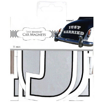 Just Married Magnet Car Decorating Kit - Just Married Car Decorating Kit