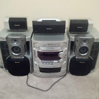 Panasonic Surround Sound Stereo System