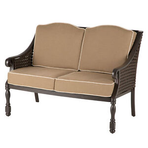 NEW BOMBAY COMPANY Glenburn Outdoor Settee BENCH