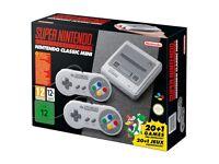 Nintendo Classic Mini: Super Nintendo Entertainment System - Brand New & Factory Sealed