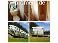 Three 8 berth caravans for hire promenade and sunnymede ingoldmells