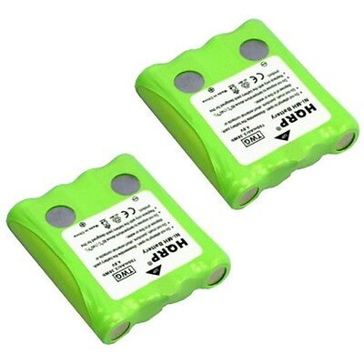 2-pack Hqrp Battery For Cobra Two Way Radio Fa-bp Fabp / ...