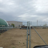1/2 Acre Yard Fenced & Gravelled FOR LEASE