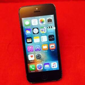 Mint iPhone 5 16gb Black with Accessories and Tax Invoice Surfers Paradise Gold Coast City Preview