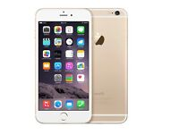 Iphone 6 gold 64gb unlocked good condition