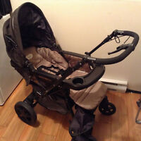 Poussette Stroller Peg Perego Uno Brune/Brown