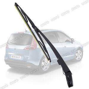 Back Rear Wiper Arm & Blade For Renault Megane Scenic MK I 1996 -2003 Windscreen