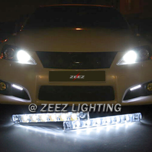 Euro 6 LED Daytime Running Light DRL Daylight Kit Fog Lamp Day Time Lights C07