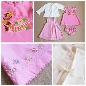 BABY GIRL'S CLOTHES BUNDLE - SIZE 0-1