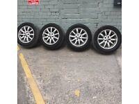 S type jaguar alloys and tyres
