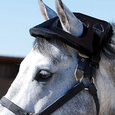 Cashel HORSE HELMET black prevent head injury trailer, vaccination, stall for sale  Springfield