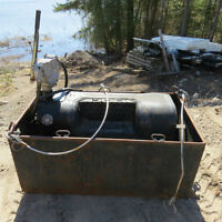 Diesel Fuel Transfer Tank With Hand Pump