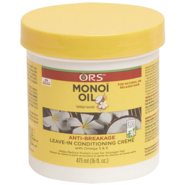 ORS Monoi Oil Anti-Breakage Leave-In Conditioning Creme, 16