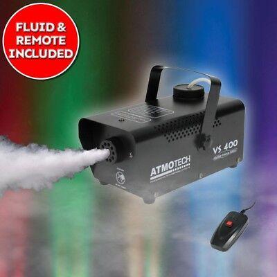 Atmotech VS 400 Smoke Fog Effect Machine With Fluid Halloween DJ Disco Party