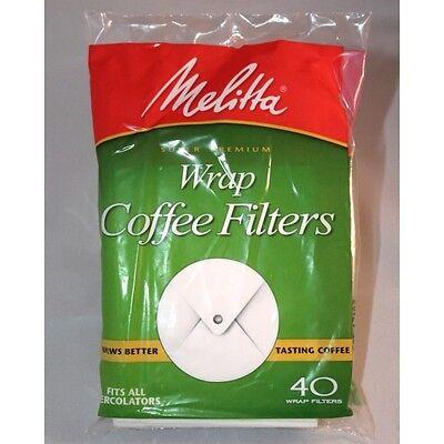Melitta Super Premium Wrap Coffee Filters Fit All Percolator