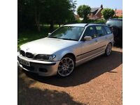Bmw 320d sport (rare) touring estate 2005 May part ex swap reduced!