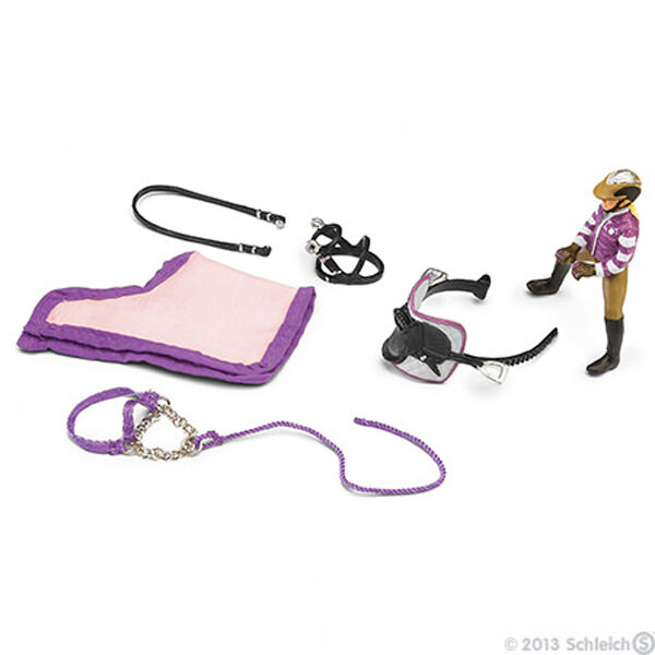*NEW* SCHLEICH 42039 Girl & English Pony Riding Accessories