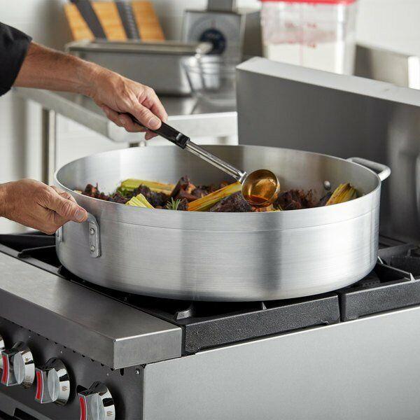 Brazier Aluminum Standard Weight Restaurant Kitchen Cooking Commercial 28 Qt