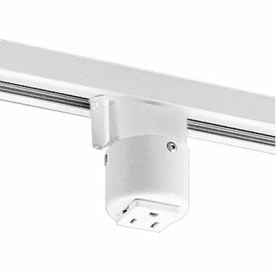 PROGRESS LIGHTING P8751-28 Track Accessories Grounded Convenience (Grounded Convenience Outlet)