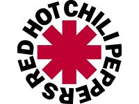 Red hot chilli peppers tickets x2