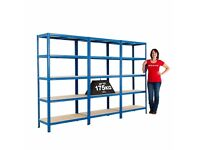 Brand new shelving suitable for store room or garage