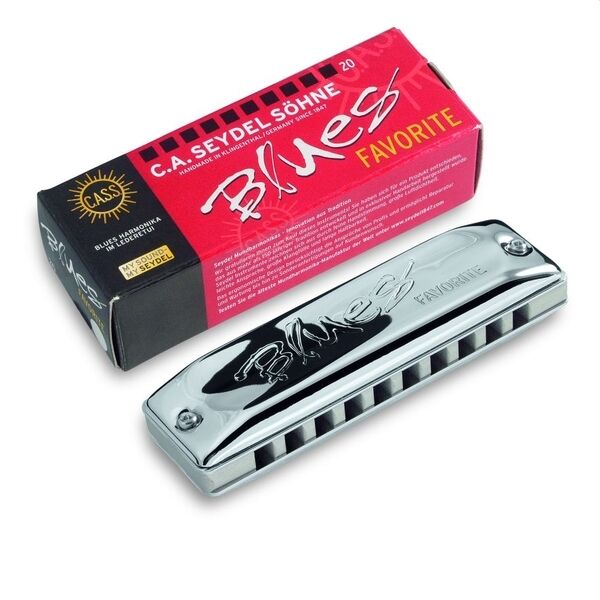 Seydel Favorite Harmonica All Keys + LOW & HIGH Solid Aluminum Comb - Key Choice