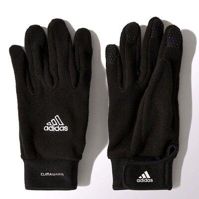 ADIDAS FIELD PLAYER GLOVES BLACK/WHITE SIZES 4 TO 6 BNWT Adidas Field Players Gloves