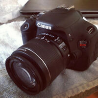 EOS Rebel T3 with EF-S 18-55mm f - LIKE NEW EVERYTHING INCLUDED