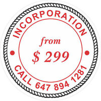 INCORPORATION OF COMPANY  BUSINESS SET UP