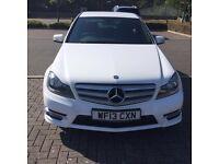 Mercedes Benz C220 CDI model 2013