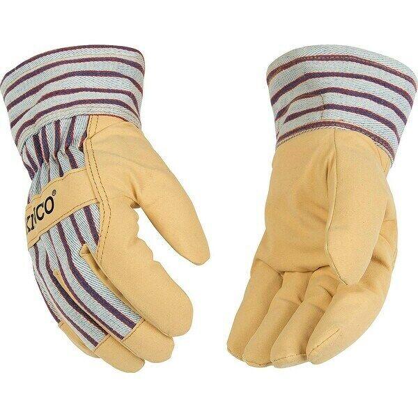 Kinco 1927 Grain Pigskin Leather Palm Winter Gloves W/HeatKeep Lining Med – XL Business & Industrial