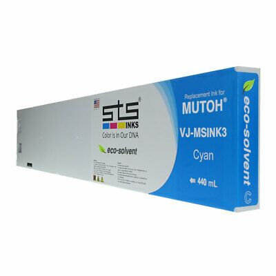 440mil Mutoh Eco-solvent Ink Cyan