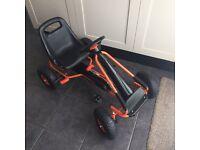 Formula 1 Style Kids Childrens Pedal Go Kart On Rubber Wheels