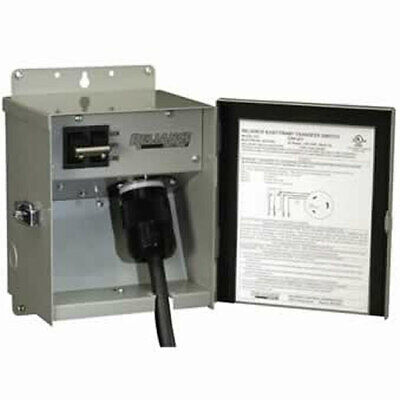 Reliance Controls 30-amp 120v 1-circuit Outdoor Transfer Switch