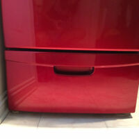 Front load washer/dryer - pedestal with drawer